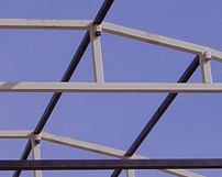 CRG Boiler Systems custom designs framework & roof systems for drilling rig structures.