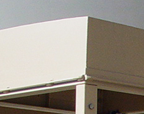 Roof systems can be fabricated to any design.